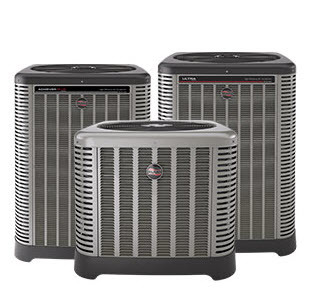 Ruud central air conditioners