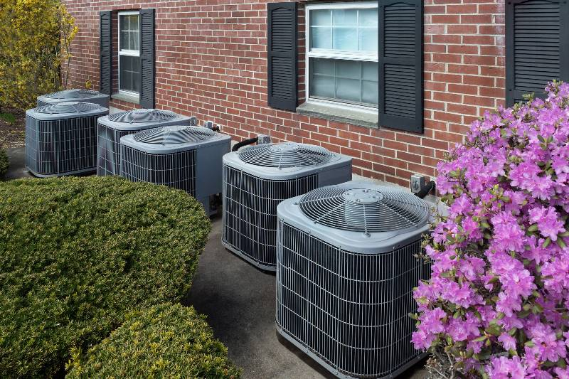 High-efficiency-modern-AC-heater-units-energy-save-solution